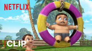 Playground Time! 🙂 Mighty Little Bheem | Netflix Jr