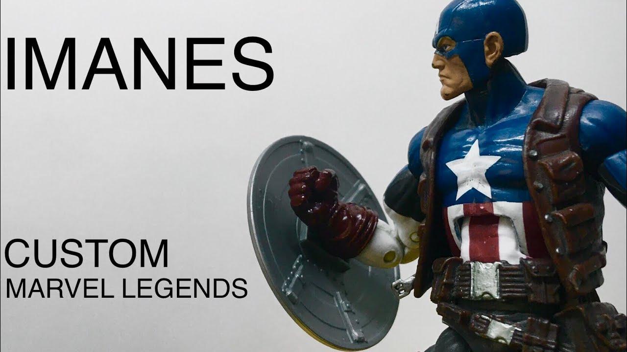 Custom con imanes en Marvel Legends l Reparación
