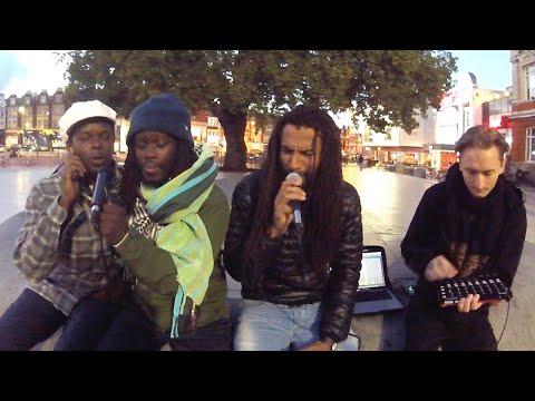 Alpha Steppa, Nai-Jah, Joe Pilgrim & Setondji Spirit (Brixton, London) #streetdub [Dub Dynasty]