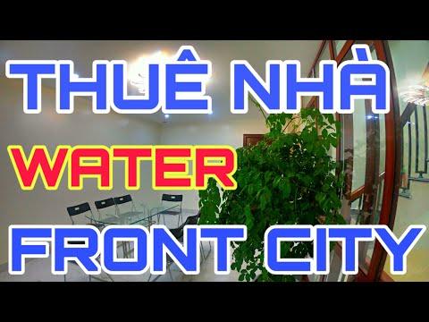 Thuê Nhà Hải Phòng 5 Tầng Full Nội Thất Water Front City