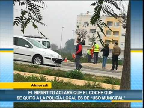 Almoradi El Bipartito Aclara Que El Coche Que Se Quito A La Policia Local Es De Uso Municipal
