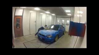 Repair and Painting my Subaru WRB STi Hood
