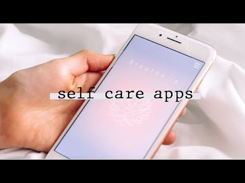 my favorite self-care apps ☆ ☾