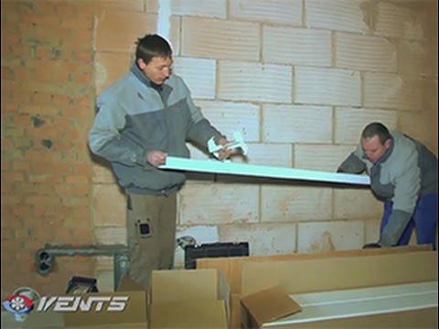 видео: Установка ВЕНТС ВУЭ2 250 П ЕС: монтаж приточно-вытяжной вентиляции в квартире