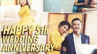 The Onsu Family - Kejutan Ulang Tahun Pernikahan ke-5 dari Ayah Untuk Bunda