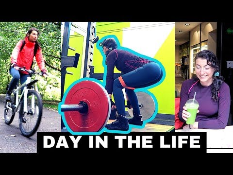 BOOTY WORKOUT | CYCLING IN GLASGOW | Day in the life