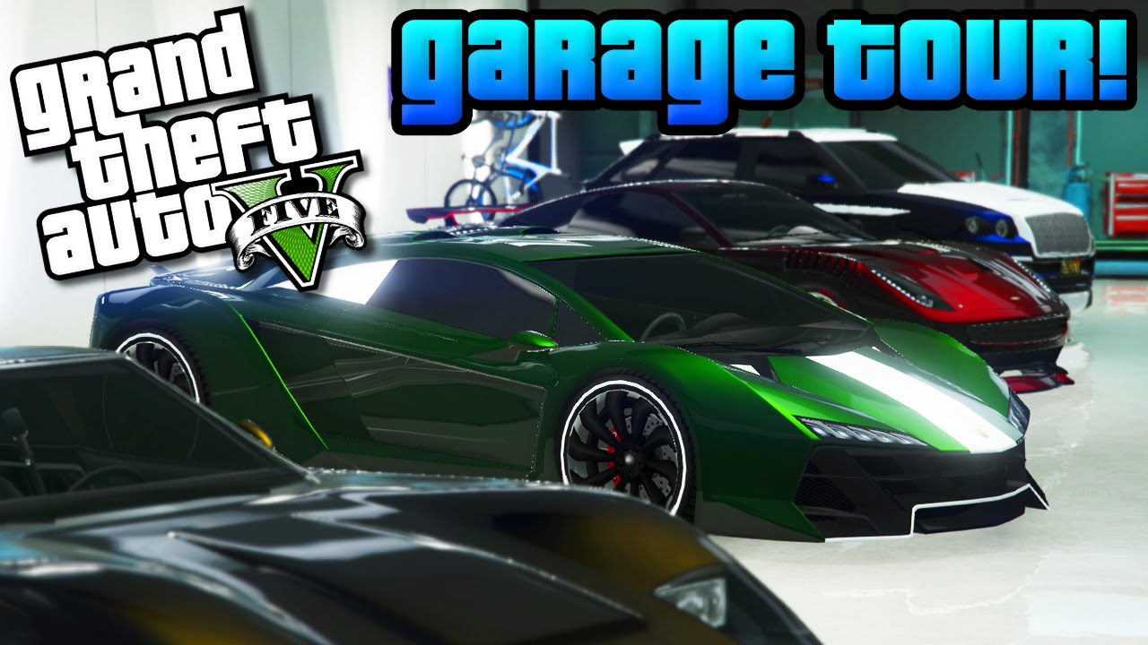 Gta online next gen double garage tour update best for Voiture garage gta 5