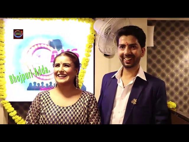 Actress Aakanksha Awasthi AKS Pathshala Entertainment To celebrate The Grand Opening