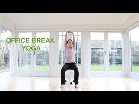 Office Break Yoga 10 mins