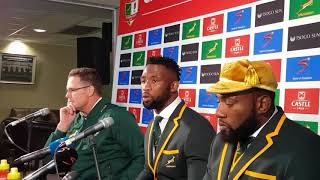 springbok captain siya kolisi we left a lot of points out there we have a lot to work on