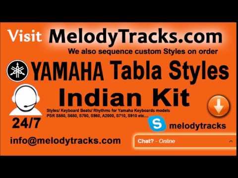 Mere jeevan ka maqsad   Yamaha Tabla Styles   Indian Kit    PSR S550, S650, S750, S950, A2000, S710,