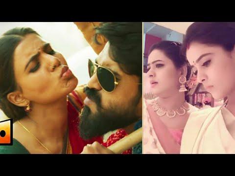 Rangamma Mangamma Song || Muddha Mandaram Serial Actress Dubsmash Telugu