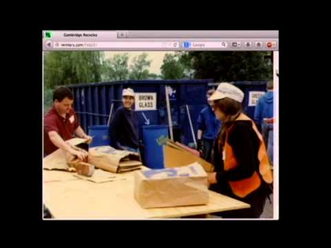 Episode 40 of Cambridge Inside Out - the early days of Cambridge Recycling