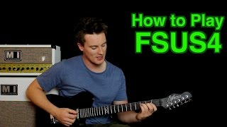 How to Play F SUS4 (suspended)