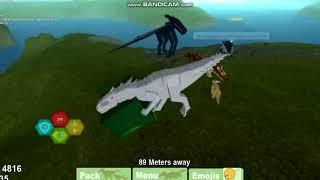 Meeting Liz On Roblox Dino Sim!