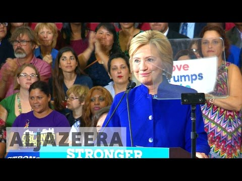 US election: Clinton rallies black voter support in Florida