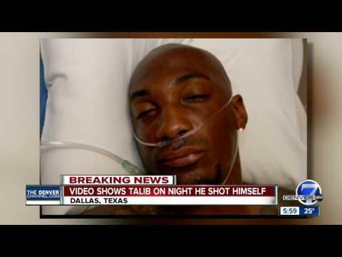 Video shows Aqib Talib on night he shot himself