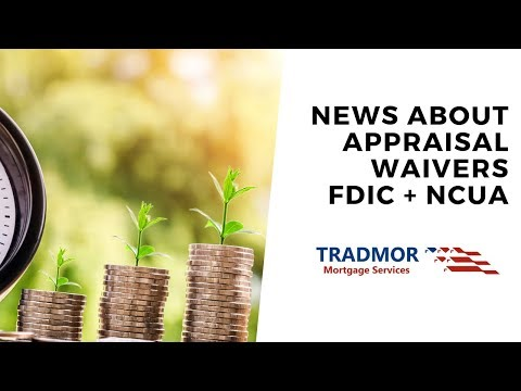 fdic-allows-appraisal-waivers-to-400k?-ncua-allows-commercial-appraisal-waivers-to-$1-million!