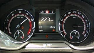 Skoda Octavia RS 245 2017 - acceleration 0-220 km/h