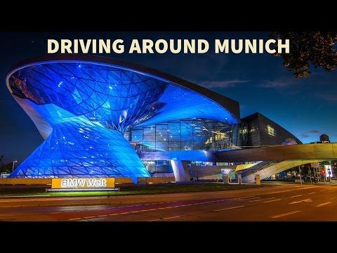 Germany: Driving Through (München) Munich