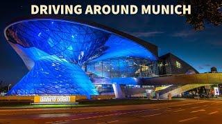 germany driving through mnchen munich