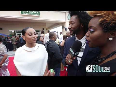 Stellar Awards 2017 (Red Carpet) Koryn Hawthorne of NBC's The Voice