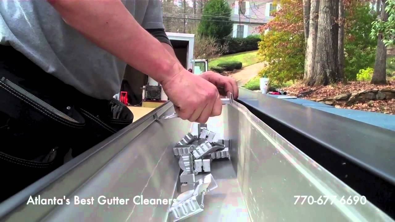 Atlanta new gutter installation gutters installed atlanta for New gutters