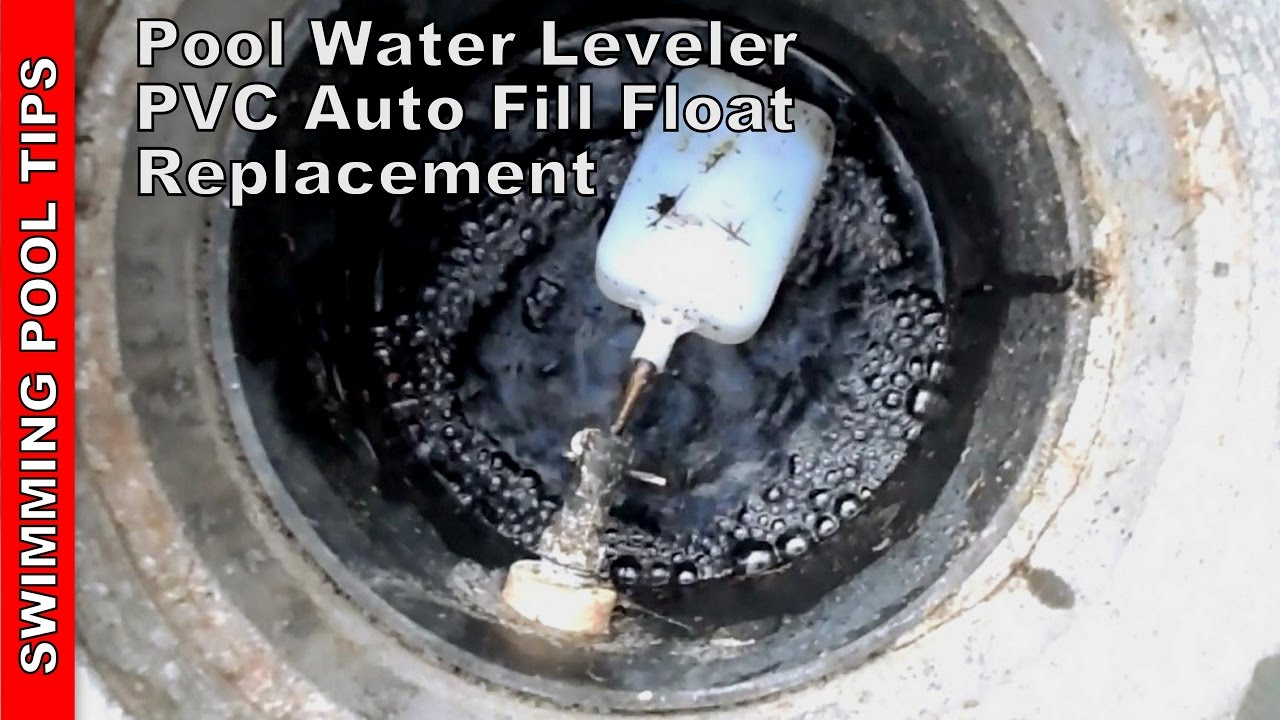 Pool Water Leveler Pvc Auto Fill Float Valve Repair Installation Youtube