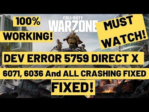 call-of-duty-warzone-dev-error-5759,-6071,-6328,6034 direct-x-error-fixed season-4-crash-fix 