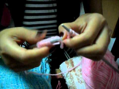 วิธีถักผ้าพันคอ.AVI