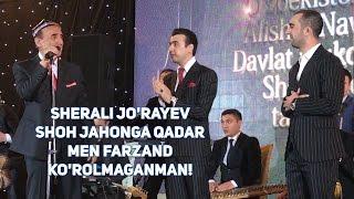 """Sherali Jo'rayev: """"Shoh Jahonga qadar men farzand ko'rolmaganman!"""""""