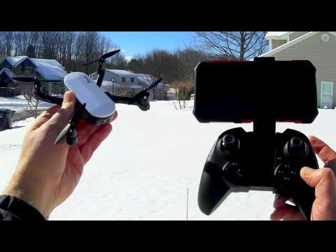Download Potensic Elfin Tiny Folding Portable Camera Drone Flight Test Review