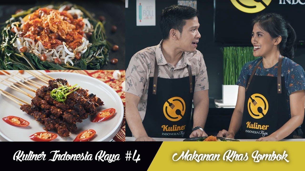 Kuliner Indonesia Kaya 4 Masakan Lombok Youtube