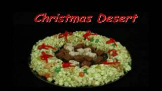 Christmas Party Desert  Popcorn Cake  Xmas Ideas