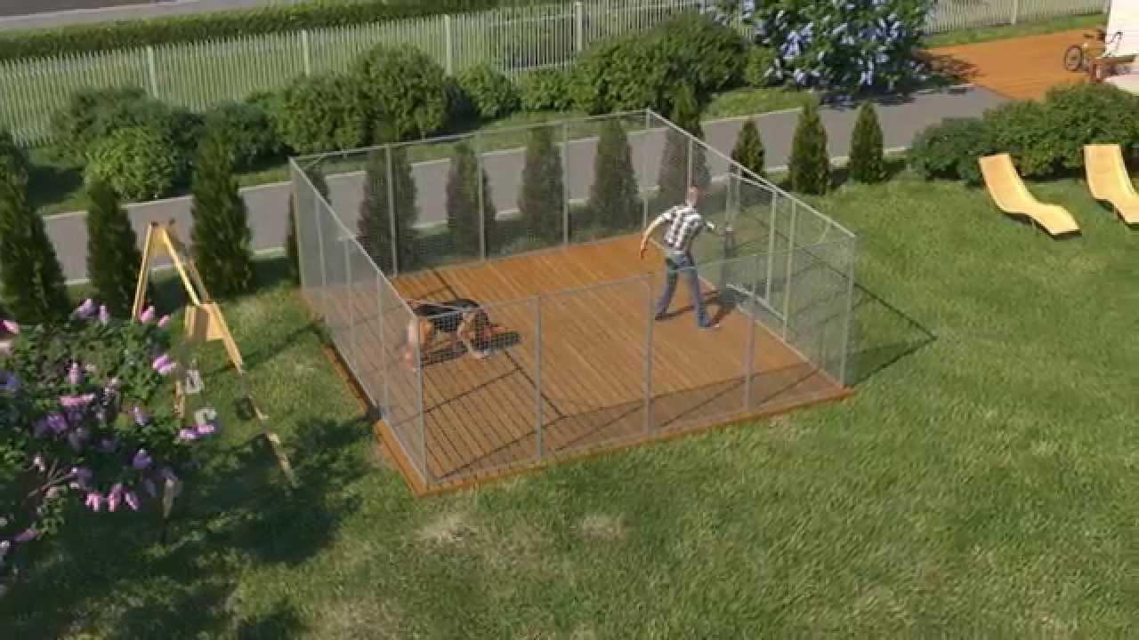 Staket stängsel staket : Bygga hundgÃ¥rd - tips - HundgÃ¥rdar frÃ¥n Demex - YouTube