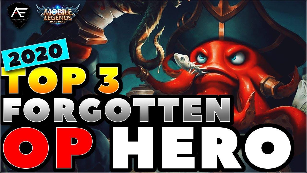 TOP 3 LOW-KEY OP HERO | Mobile Legends