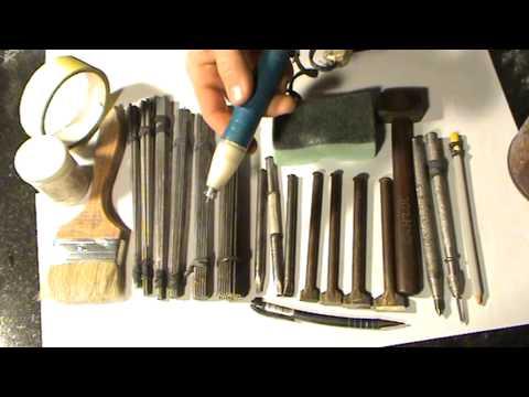 видео: Гравировка портрета на граните. Инструмент