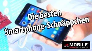 Die 6 besten Schnäppchen-Smartphones vom MWC 2015 | deutsch / german