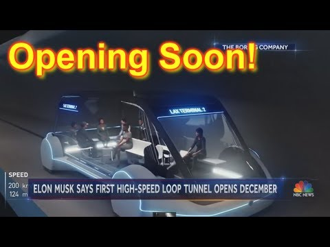 'HYPERLOOP' To Open In Less Than A Month!!