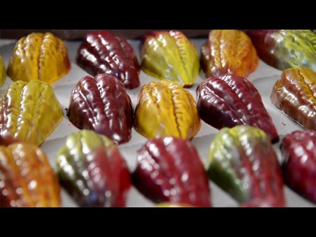 Vernissage de Pâques Jouvenal 2020 - Les techniques de travail du chocolat 3/11