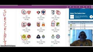Pronosticos de la jornada#9 del Clausura 2018 De La Liga mexicana