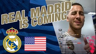 REAL MADRID IS COMING, spread the word!