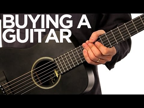 Buying A Guitar | Minute Music School