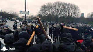 LOI TRAVAIL 31/03/2016 • PARIS : ÉMEUTE, PLUIE, BLACK BLOCS