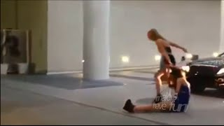 Девки отжигают Видеоприколы maids have fun III