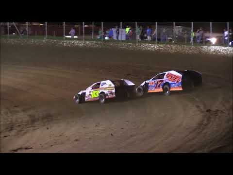 Modified B-Main #1 from Portsmouth Raceway Park, August 18th, 2018.