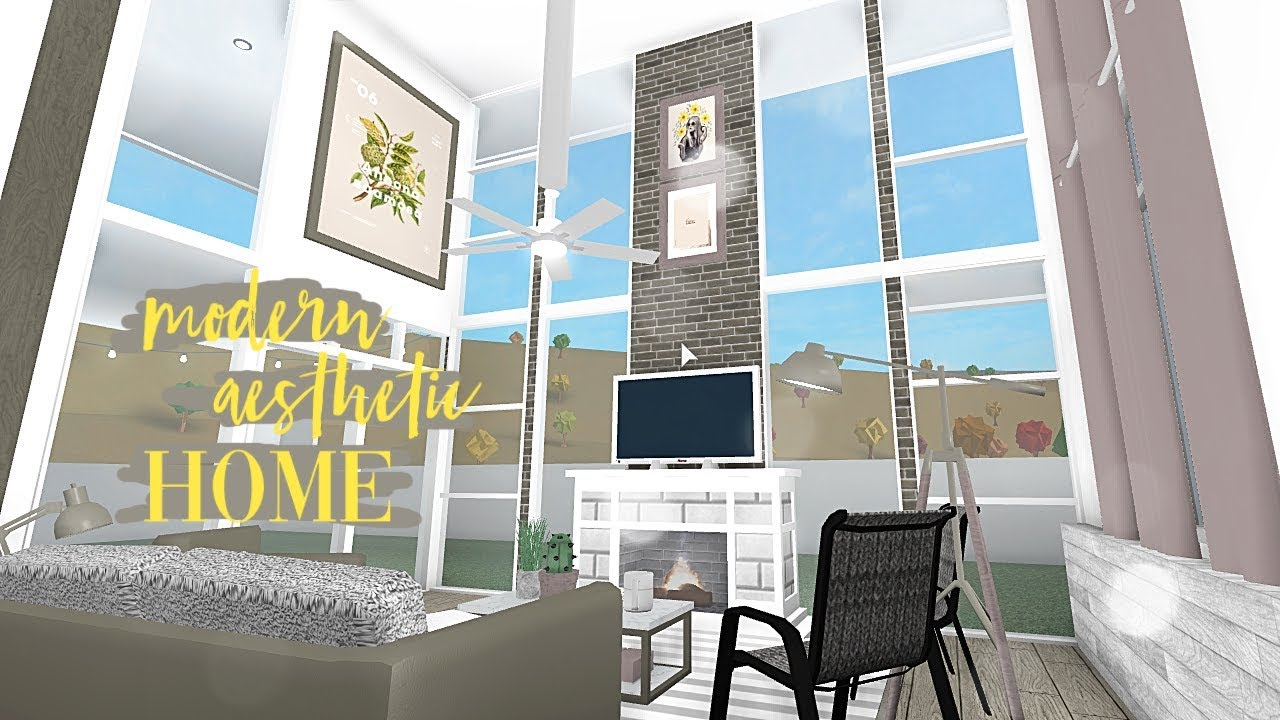 Roblox | Bloxburg | Aesthetic Modern House - YouTube
