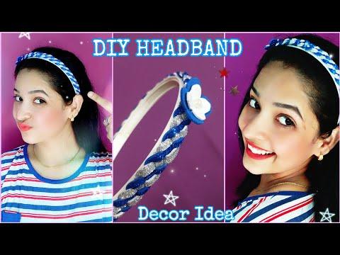DIY Headband Decor Idea with Foam Sheet |foam sheet ideas | DIY with DOLL