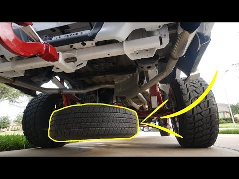 BEST AND EASY WAY TO REMOVE YOUR FORD F150 SPARE TIRE