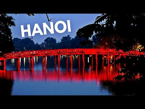 HANOI, VIETNAM | Motorbikes, Markets, Traffic | INSANE